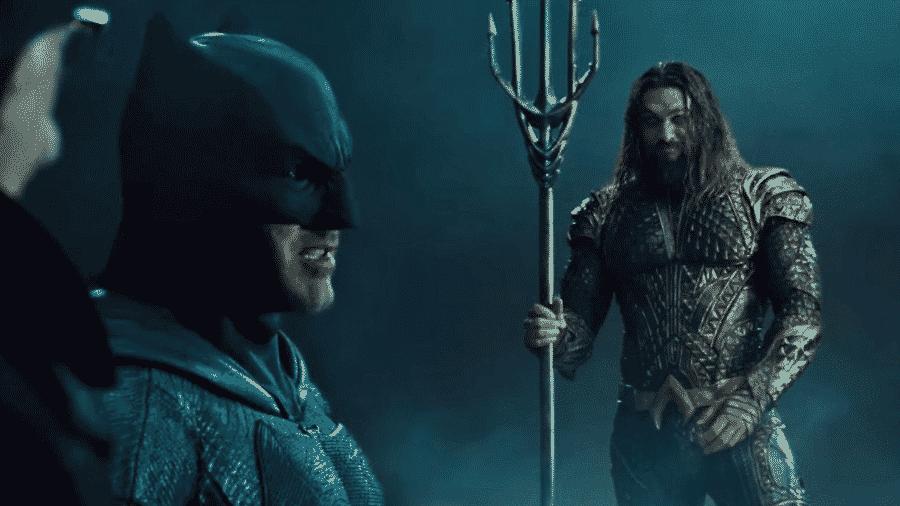"""Cena do filme """"Liga da Justiça"""" - Reprodução"""