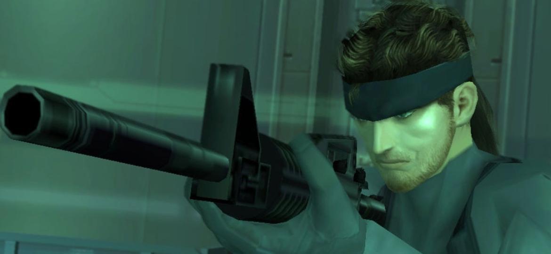 Solid Snake em Metal Gear Solid 2 - Reprodução