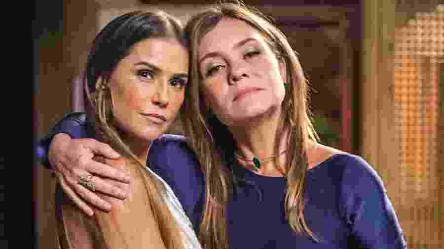 "Karola (Deborah Secco) e Laureta (Adriana Esteves) em ""Segundo Sol"" - Paulo Belote/TV Globo"