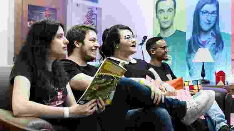 "Casa Warner  ""The Big Bang Theory"" - Rafael Roncato/UOL - Rafael Roncato/UOL"