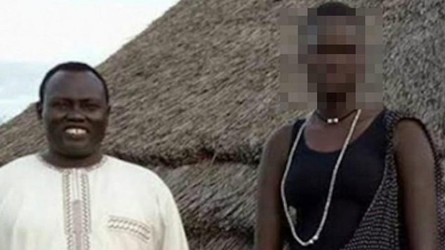 Família leiloa jovem no Sudão do Sul - Reprodução/Facebook