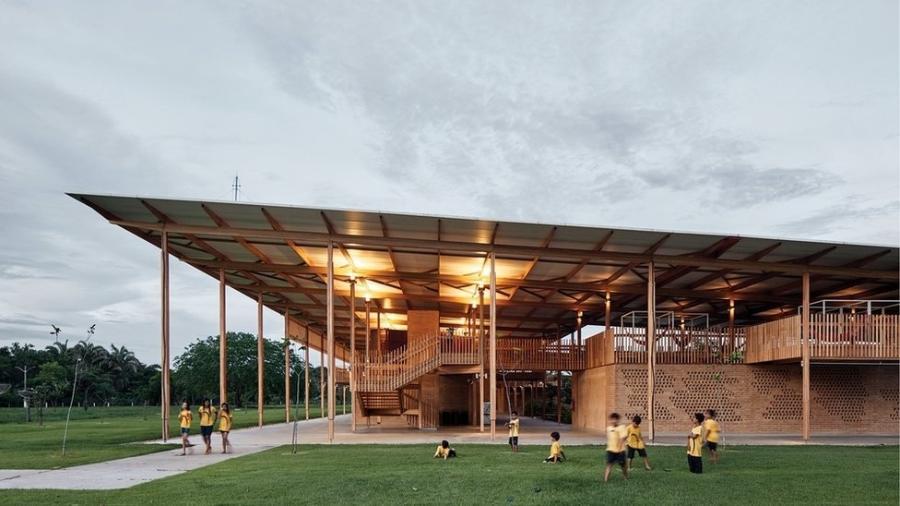 Projeto tem o objetivo de resolver um problema comum em zonas rurais no Brasil: as grandes distâncias que separam muitas vezes o aluno da escola - Estúdio Palma