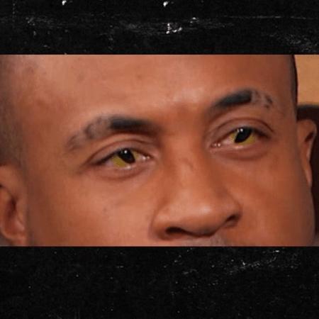 """Orlando Brown, astro de """"As Visões de Raven"""", aparece em entrevista com olhos de serpente - Reprodução/TMZ"""