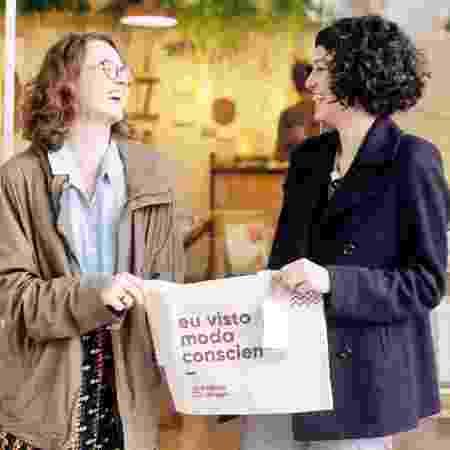 Marcelly e Juliana Alberto, fundadoras da Lojinha do Bem - Divulgação