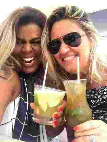 Juliana Palmer e a amiga Renata - Arquivo pessoal - Arquivo pessoal