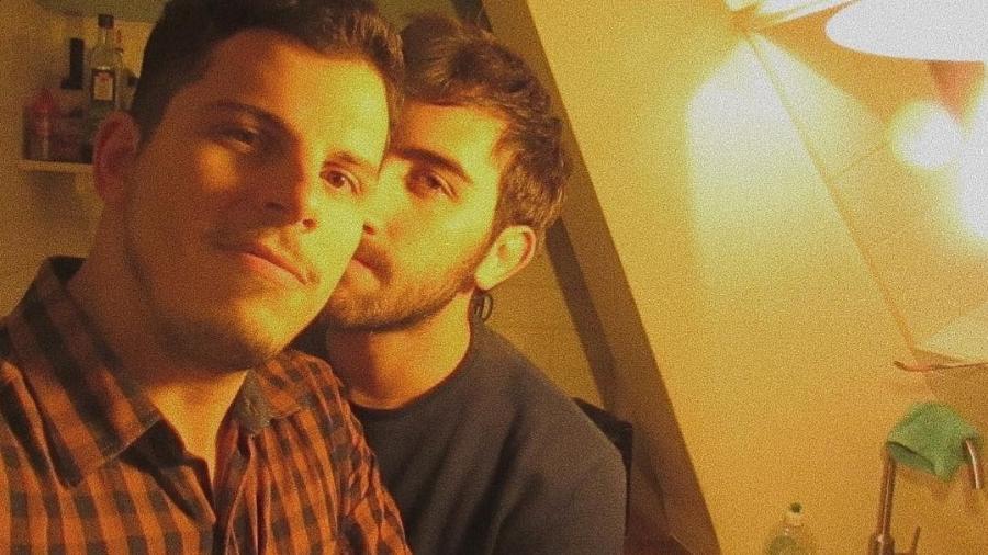 Pedro Henrique Müller com o marido, Marcello Talone - Reprodução/Instagram