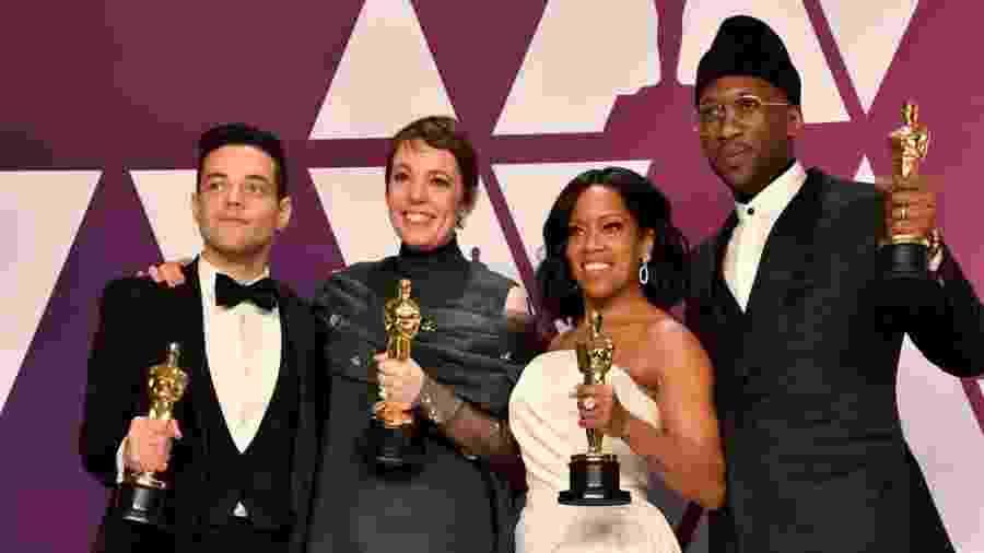 Os atores vencedores do Oscar 2019 - Jeff Kravitz/FilmMagic