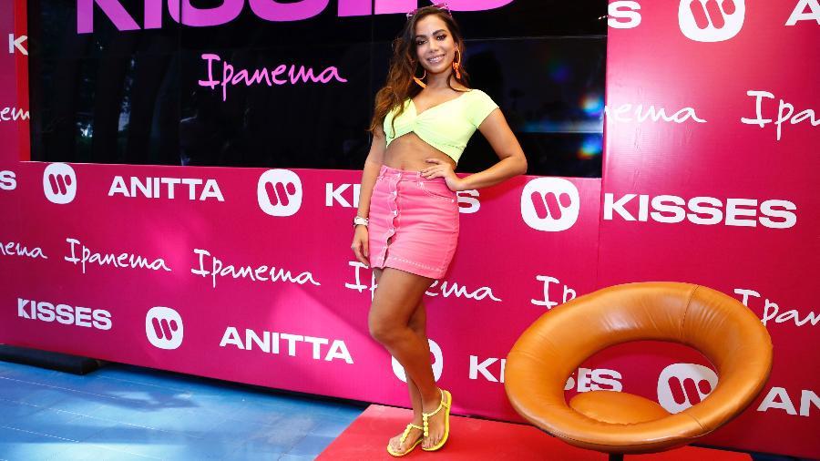 """Anitta divulga seu álbum """"Kisses"""" em evento no Rio de Janeiro - Roberto Filho/Brazil News"""