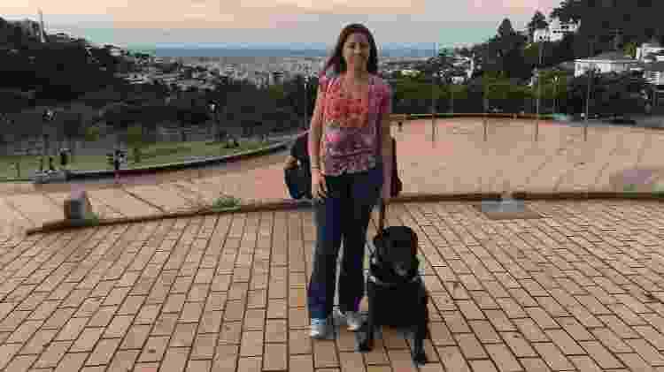 Mellina e Hilary na Praça do Papa, em Belo Horizonte (MG) - Arquivo pessoal