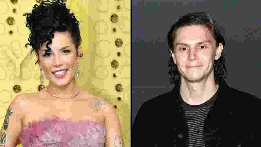 Halsey e Evan Peters estão namorando - Reprodução