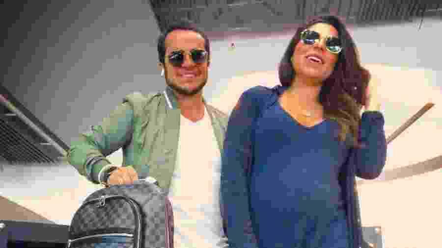 Thammy Miranda e Andressa Ferreira: prontos para ter o primeiro filho - Reprodução/ Instagram