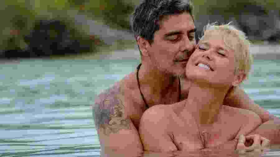 Junno Andrade e a namorada, Xuxa - Reprodução/ Instagram
