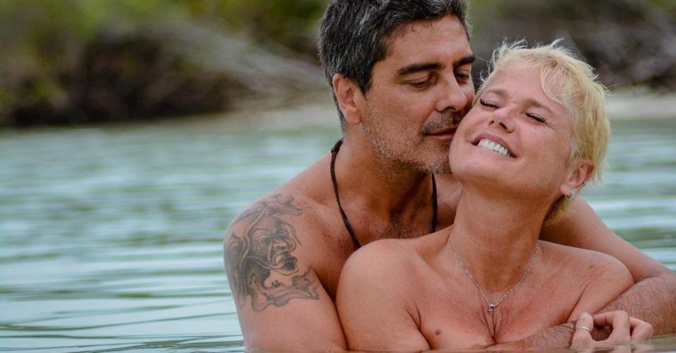 Junno Andrade e a namorada, Xuxa