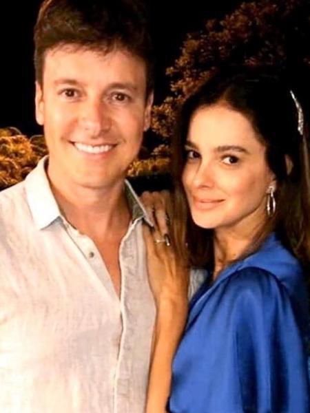 """Rodrigo Faro e Vera Viel """"celebram"""" 24 anos que se conheceram - REPRODUÇÃO/INSTAGRAM"""