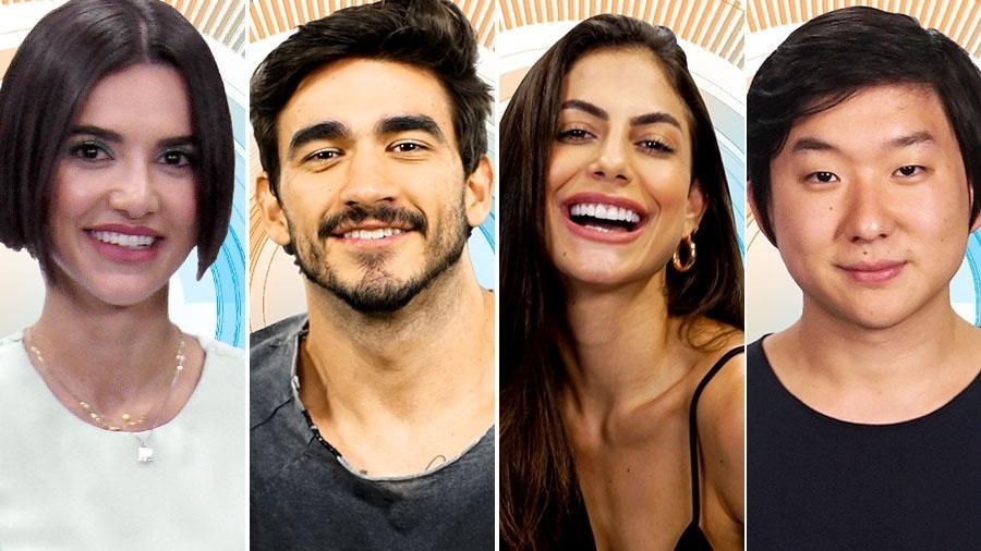 BBB - montagem - Divulgação/TV Globo