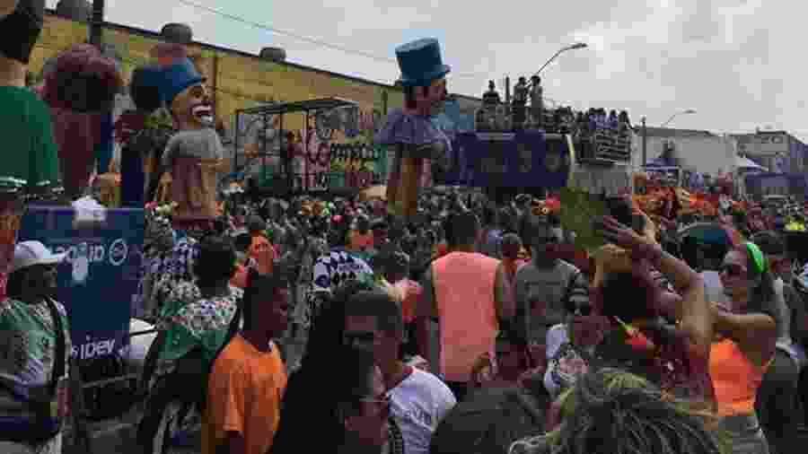 Galo da Madrugada desfila pelas ruas do Recife - Divulgação