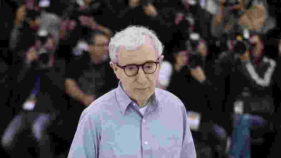 Woody Allen durante o 69° Festival de Cannes - Valery Hache/AFP