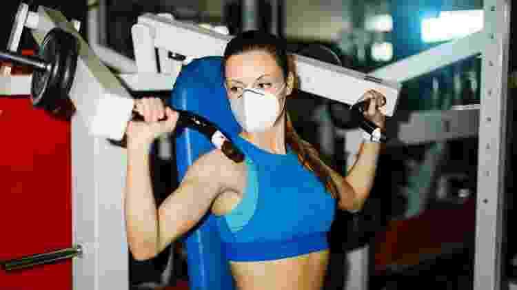 treino com máscara, exercício, pandemia - iStock - iStock