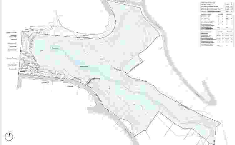 Croqui do Parque Paraisópolis, obre prometida para ser entregue em outubro de 2020 - Divulgação - Divulgação