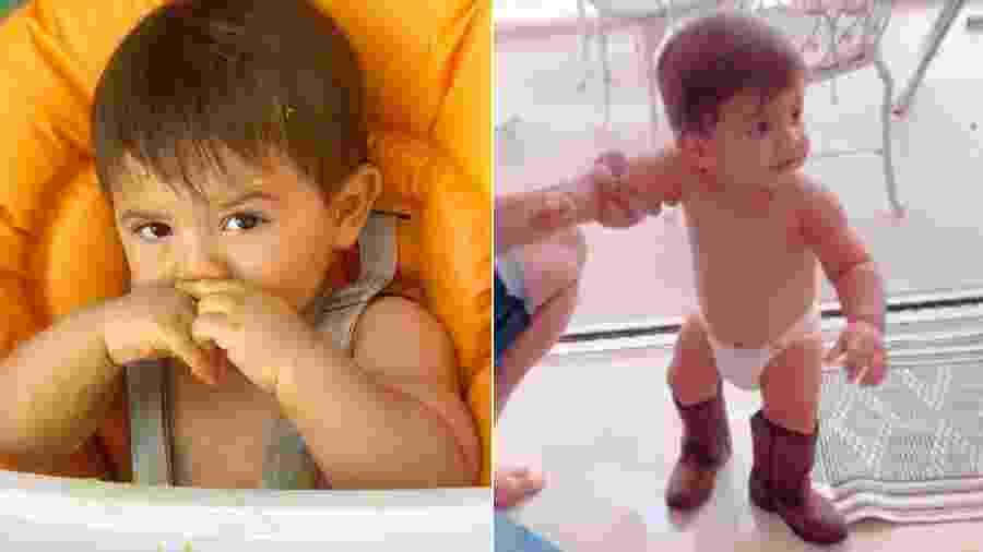 Marília Mendonça mostra toda a fofura do filho, Léo - Reprodução/Instagram
