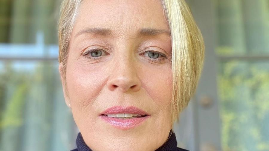 Após interagir com alguns usuários, Sharon Stone foi banida em aplicativo de namoro  - Reprodução / Instagram