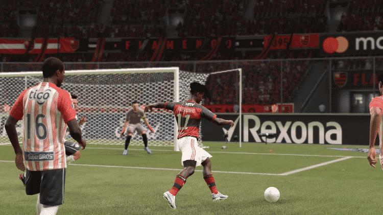 FIFA 21 Flamengo Prazeracinho - Reprodução/START - Reprodução/START