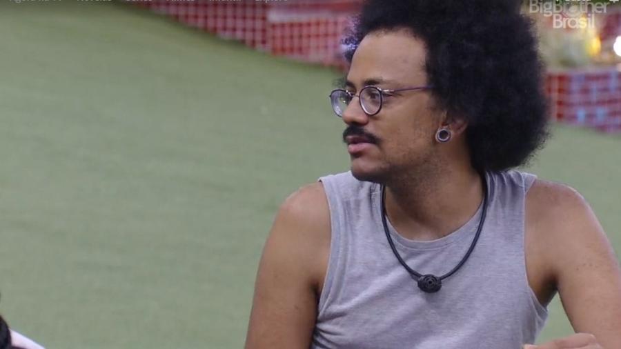 BBB 21: João Luiz dá dica para os brothers - Reprodução/ Globoplay