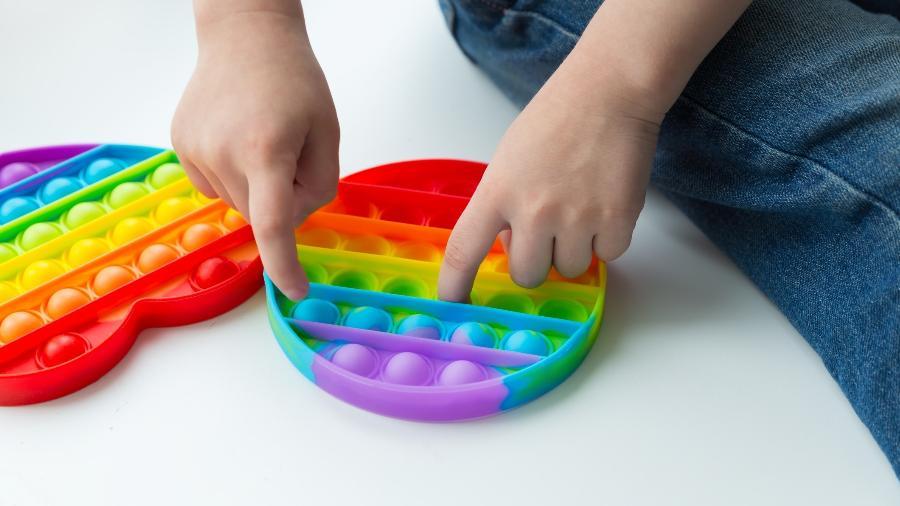Fidget Toy, brinquedo que tem conquistado as crianças - Getty Images
