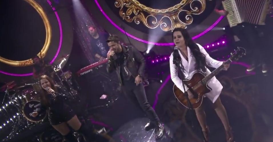 """Cristiano Araújo participou da gravação do DVD de Maiara e Maraísa na música """"Se Olha no Espelho"""""""