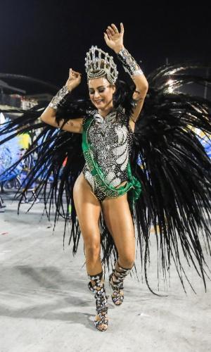 Thaila Ayala, musa da Grande Rio