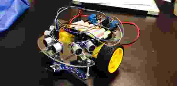 O robô do tipo GabirusUrbanos, que poderá ser construído por alunos em oficina no Sesc Santana - Divulgação