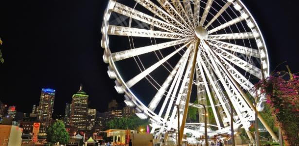 Roda gigante em Brisbane, na Austrália, não é para quem tem medo de altura - Getty Images