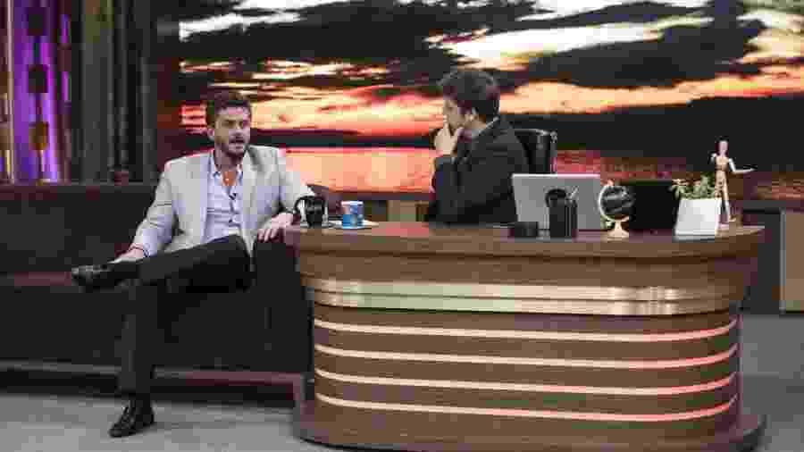 "Marcos Harter participa do ""Programa do Porchat"" - Edu Moraes/Record TV"