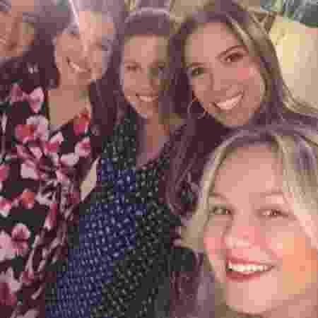 Eliana comemora volta ao trabalho em foto com filhas de Silvio Santos - Reprodução/Instagram/eliana