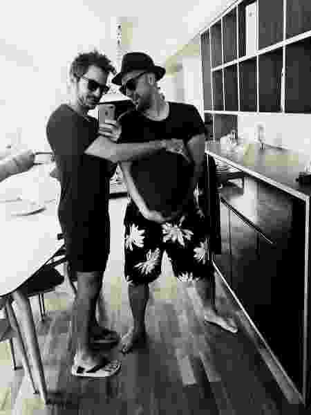 Paulo Gustavo e Thales Bretas grávidos - Reprodução/Instagram