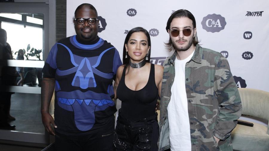 """Poo Bear, Anitta e Alesso no lançamento de """"Is That For Me"""" - Brazil News"""