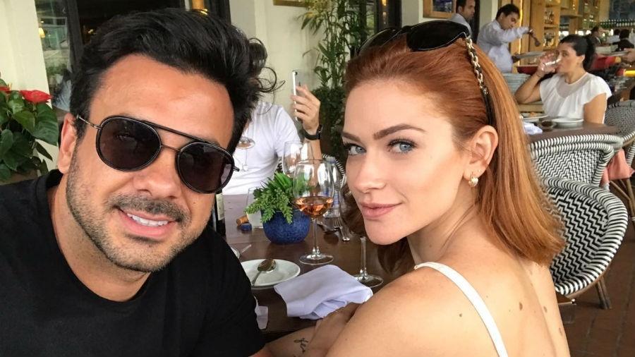 Renata Longaray com o namorado, Edson Guastale - Arquivo pessoal
