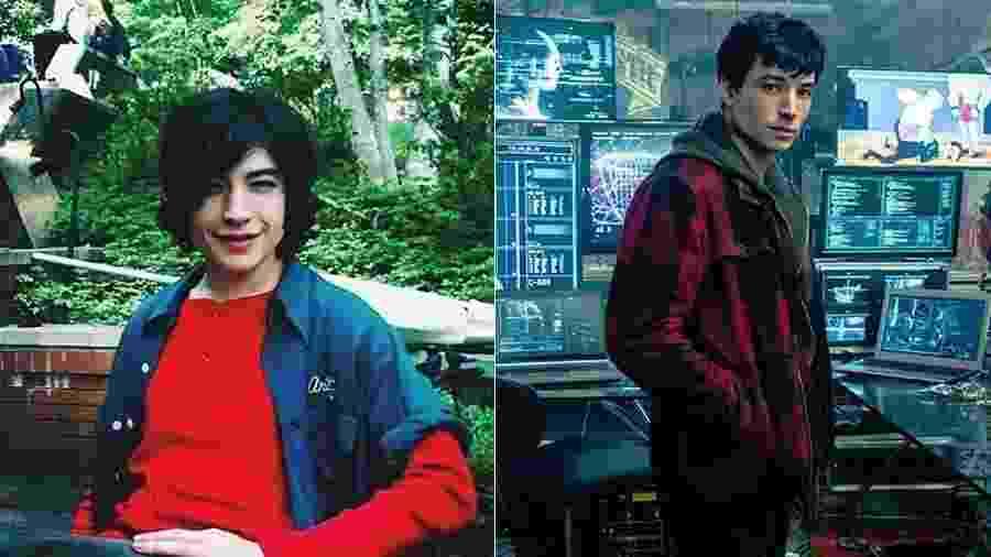 Ezra Miller era uma criança quando começou a fazer filmes - Divulgação