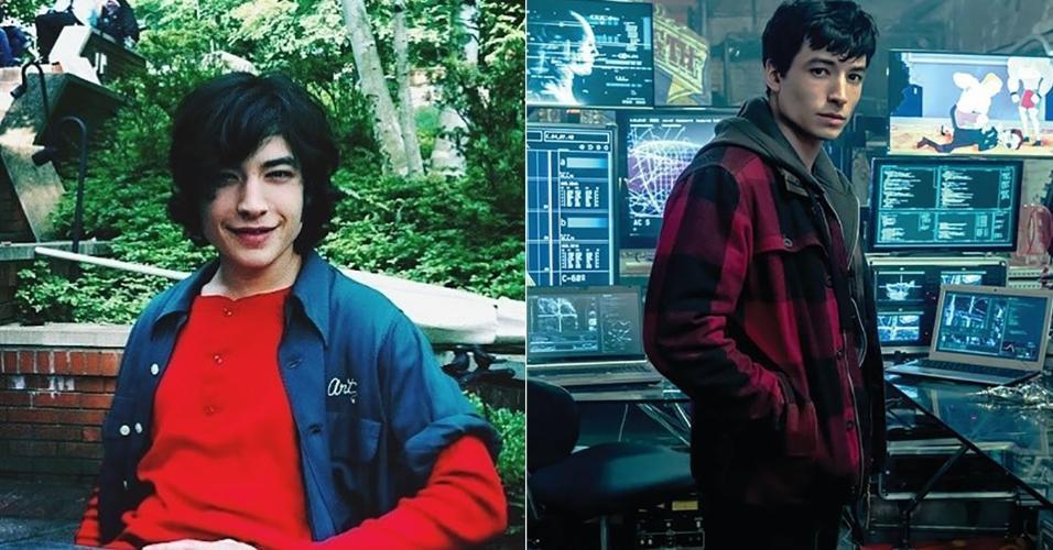 """Ezra Miller era uma criança quando começou a fazer filmes. Hoje, aos 25 anos, assumiu o papel de Flash em """"Liga da Justiça"""""""