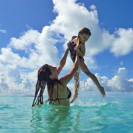 Gisele Bündchen e a filha, Vivian Lake - Reprodução/Instagram