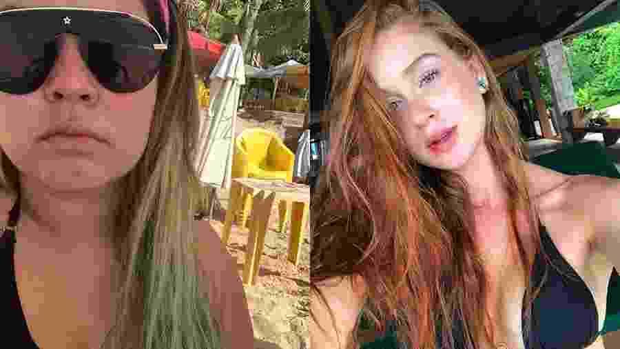 Marília Mendonça se compara a Marina Ruy Barbosa - Reprodução/Instagram