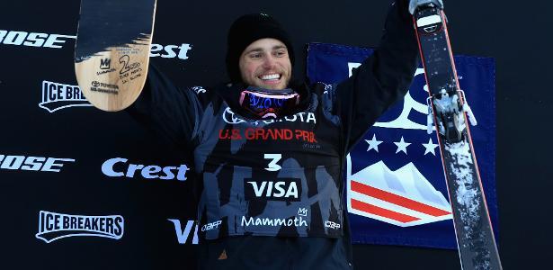 O esquiador americano Gus Kenworthy, uma das vozes do Orgulho LGBT na Olimpíada de Inverno