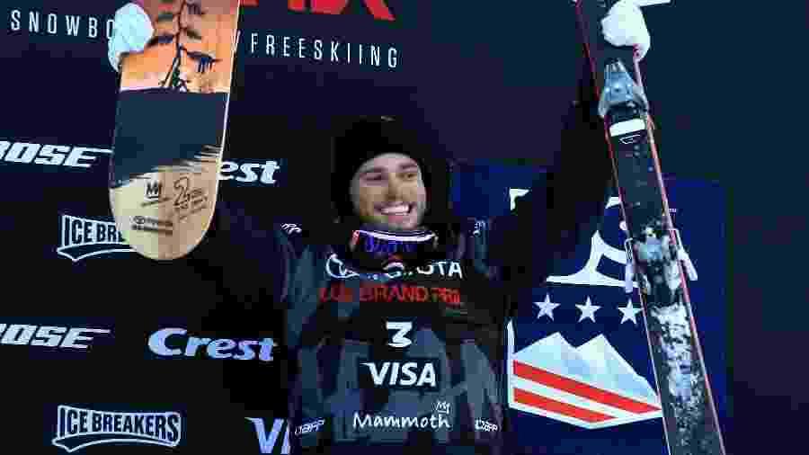 O esquiador americano Gus Kenworthy, uma das vozes do Orgulho LGBT na Olimpíada de Inverno - Getty Images