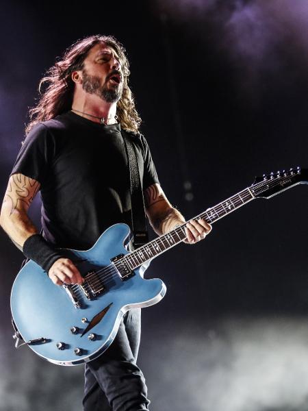 Antes do Foo Fighters e do Nirvana, Dave Grohl tocou em várias bandas punk - Lucas Lima/UOL