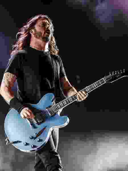 Dave Grohl, líder da banda Foo Fighters - Lucas Lima/UOL