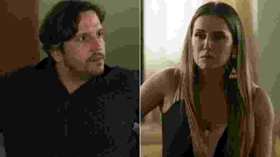 """Remy e Karola reeditam cena de """"Avenida Brasil"""" em """"Segundo Sol"""" - Montagem/UOL/Reprodução/TV Globo"""
