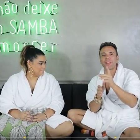 """Preta Gil fez novas revelações """"quentes"""" para Matheus Mazzafera - Reprodução/YouTube"""