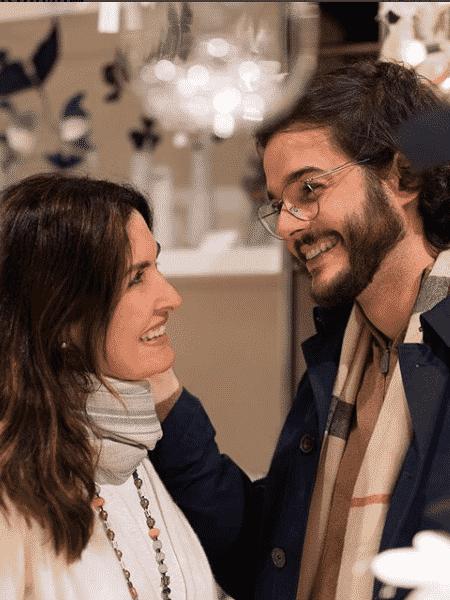 Fátima Bernardes e Túlio Gadêlha - Reprodução/Instagram