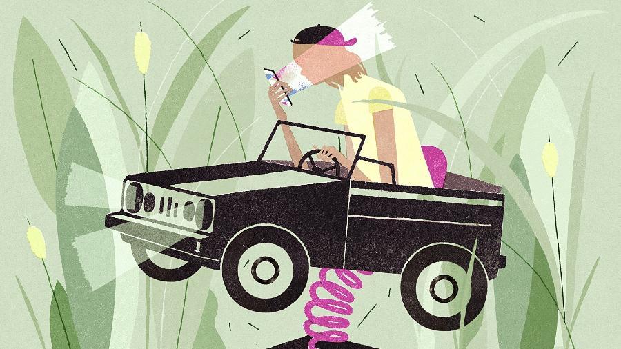O melhor jeito de reduzir o risco de um acidente é tornar os jovens mais experientes - Garcia Lam/The New York Times