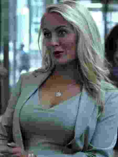 """Amy Rutberg como Marci Stahl em """"Demolidor"""" - Reprodução"""